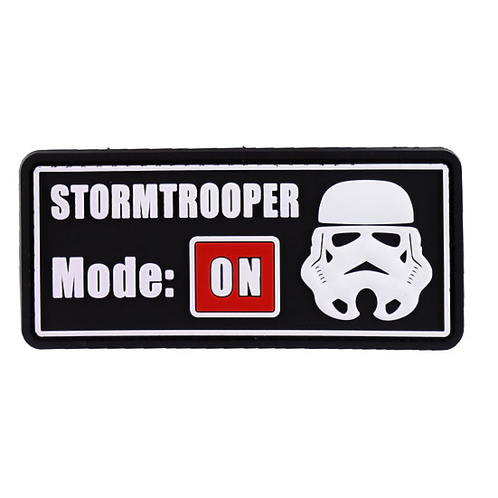 Stormtrooper Mode On Rubber Morale Patch