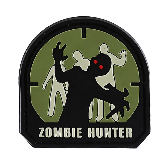Zombie Hunter Rubber Morale Patch