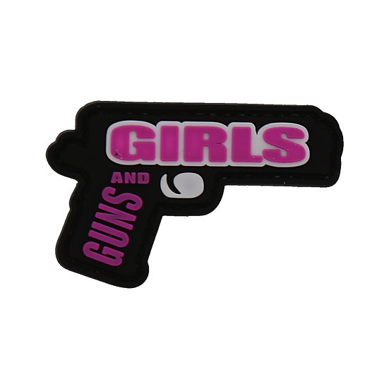 Guns and Girls Rubber Morale Patch
