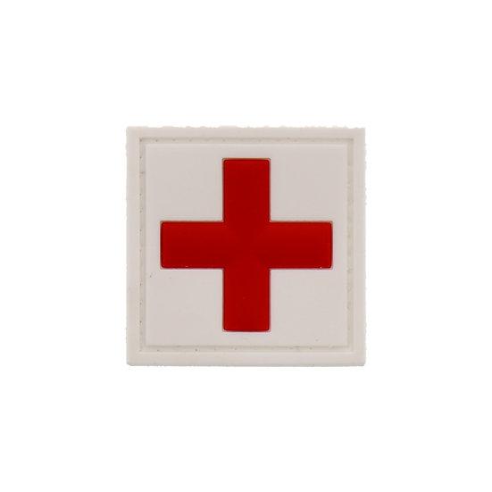 Medic Cross Rubber Morale Patch
