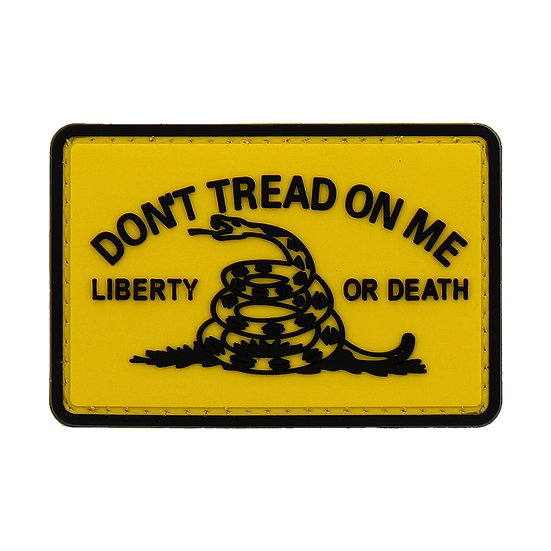 DTOM Liberty or Death Rubber Morale Patch