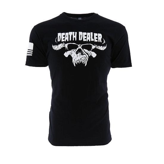 Death Dealer Horn Skull Men's T-Shirt