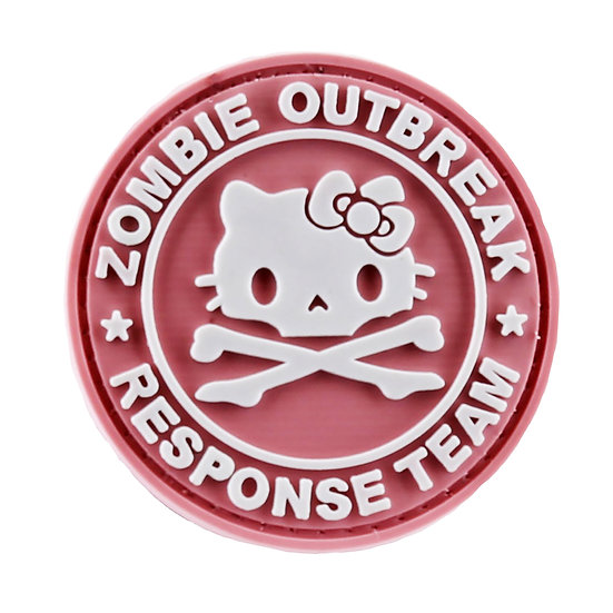 Zombie Kitty Rubber Morale Patch