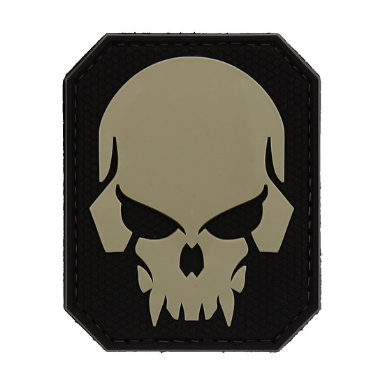 Hex Skull Rubber Morale Patch