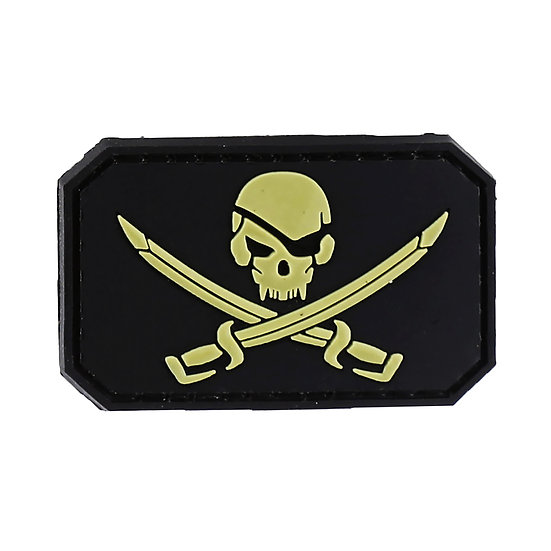 Calico Jack Rubber Morale Patch - Limited Availability