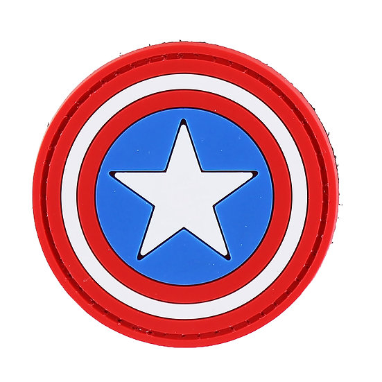 Captain America Rubber Morale Patch