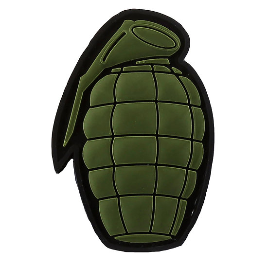 Grenade Rubber Morale Patch