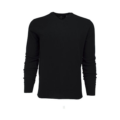 Dunhill Wool V Neck Men's Sweater