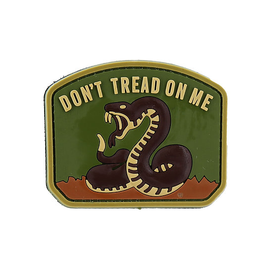 Don't Tread On Me Rubber Morale Patch