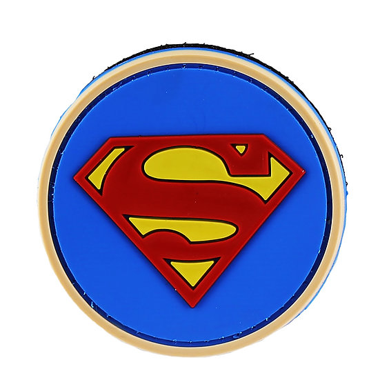 Superman Rubber Morale Patch