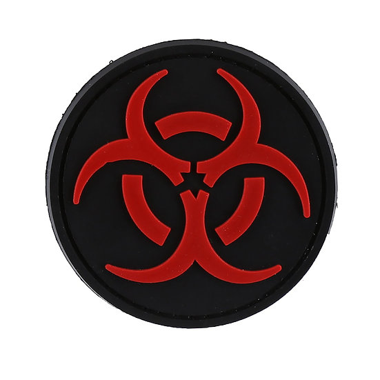 Biohazard Rubber Morale Patch - Limited Availability