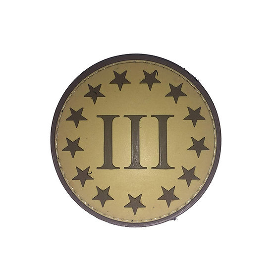 III Percent Rubber Morale Patch