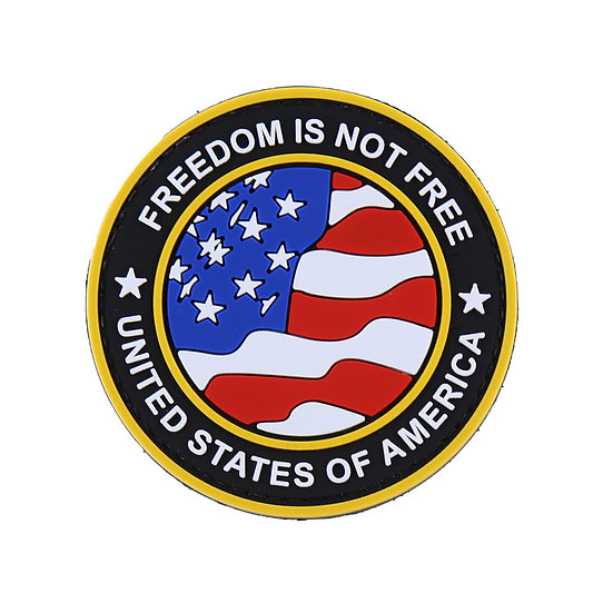 Freedom Is Not Free Rubber Morale Patch
