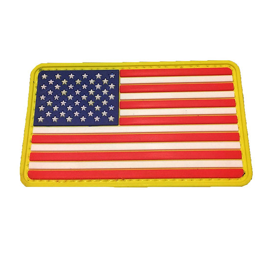American Flag Rubber Morale Patches