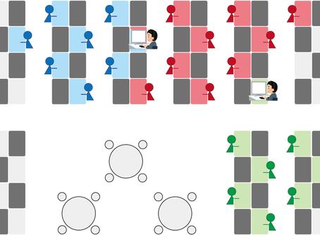 新型コロナウイルス感染症(COVID-19)禍における出社座席最適化の実証実験を行いました