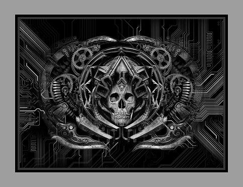 Death Metal Canvas