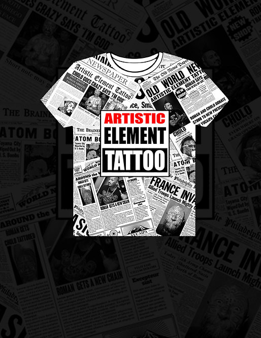 Artistic Element News Shirt
