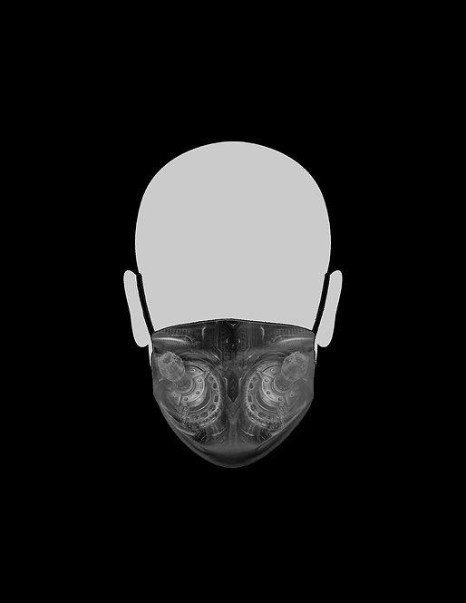 Black and Gray Bio Respirator
