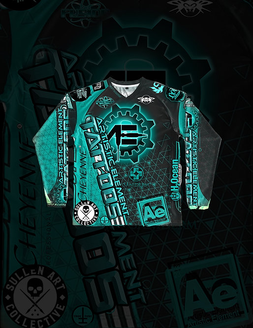 Artistic Element Tattoo Jersey