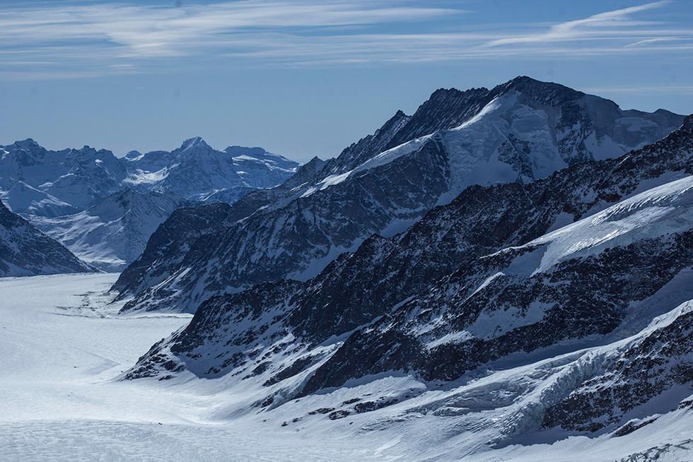 Blue • Alps • Minimal