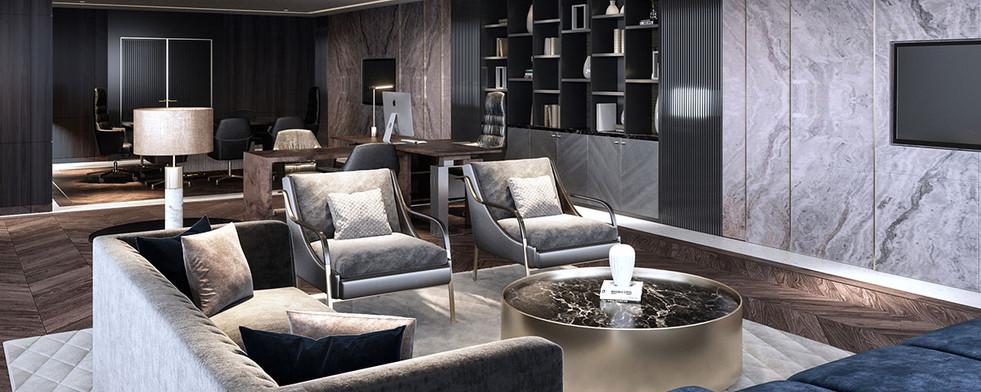 office interior design by studiovn