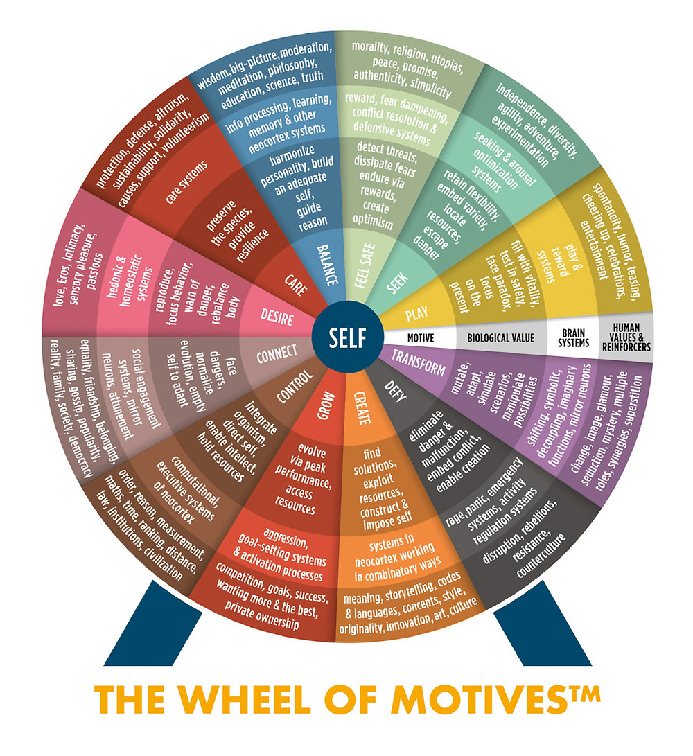 THE WHEEL OF MOTIVES TM