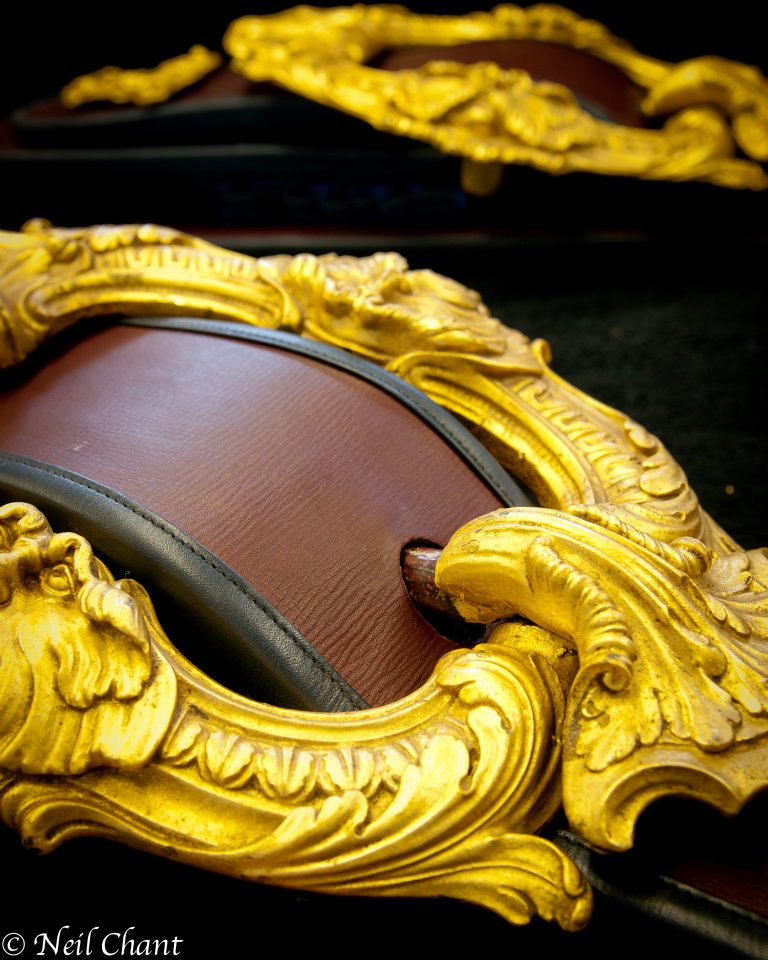 Buckle on Gold state Coach.