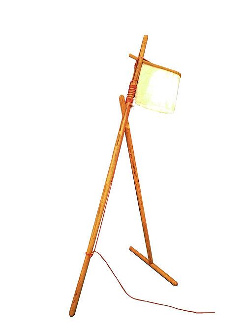Cane Floor Lamp