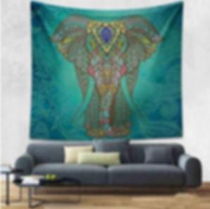 Elephant vert tenture.JPG