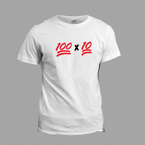 100 x 10