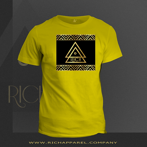 Pharaoh Solid Black/Gold Chest-plate
