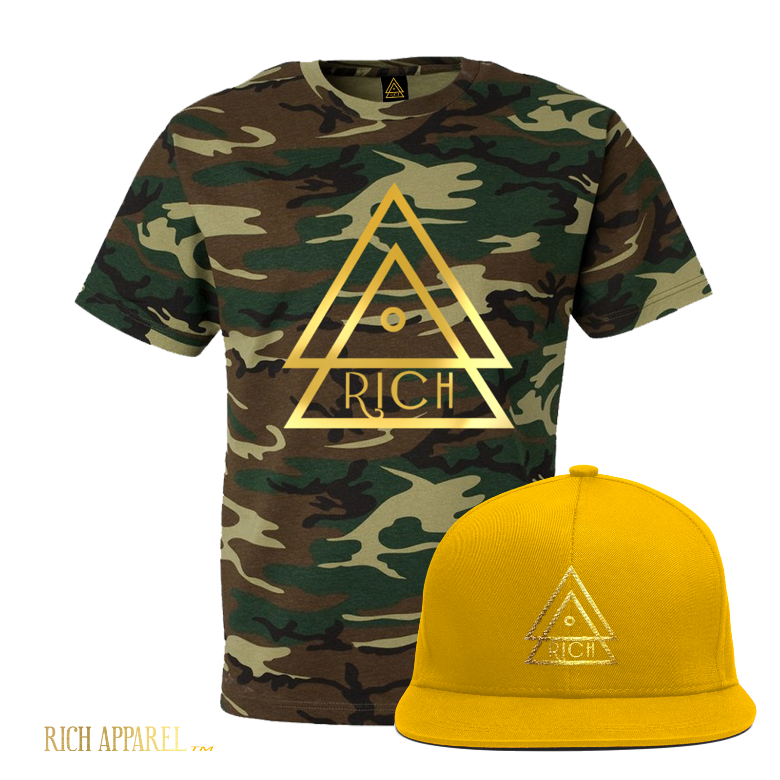 Camo T GOld Hat GoldLine logo_1