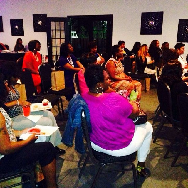 Instagram - Some of the awesome ladies at Cupcakes & Conversations Event in Birm