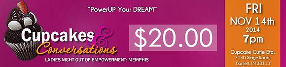 Cupcakes & Conversations Memphis: Single Ticket