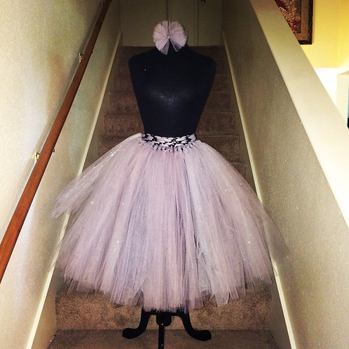 The Modest Lady Knee Length Adult Tutu Skirt