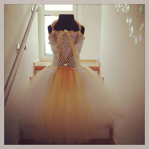 Wonderland's White Queen Tutu Dress