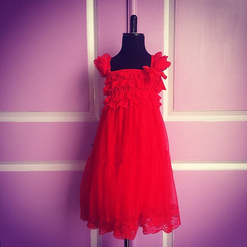 Chiffon Petti Dress