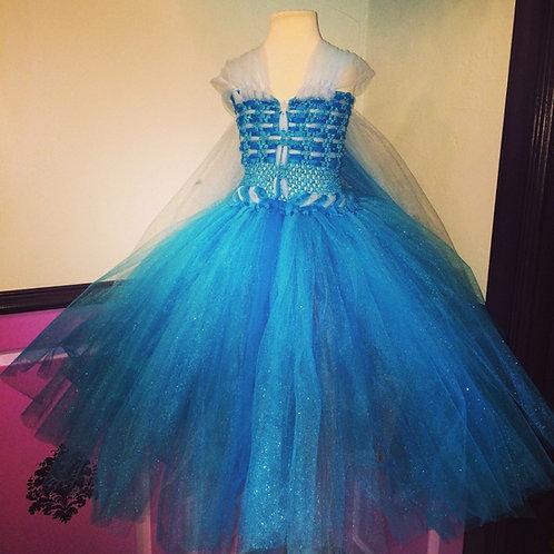 Princess Elsa's Frozen Winter BASIC Tutu Dress