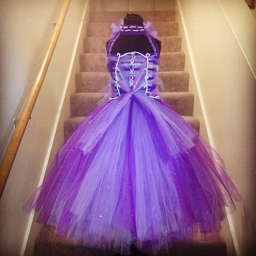 Madam Nyel's Amethyst Mist Couture Tutu Dress