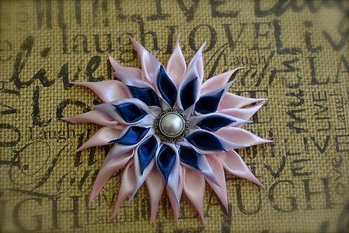 Triple Layer Satin Flower