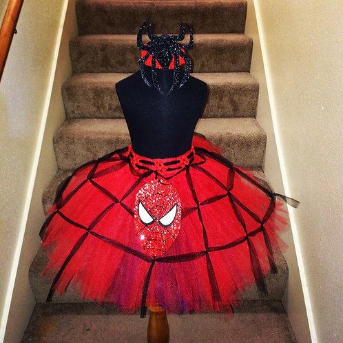 Avery's Spiderman Tutu Dress