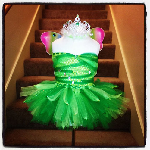 Princess Tinkerbell's Pixie Dust Tutu Dress