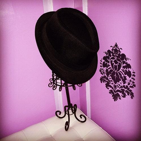 The Black Hatter Fedora