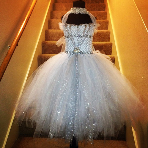 Madam Layla's Iced Diamond Couture Tutu Dress