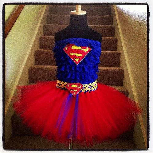 Super Girl Romper Set