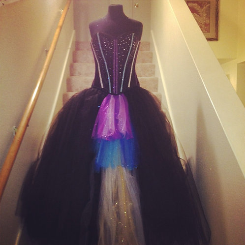 Les Madame's Jewel Corset Style Tutu Set