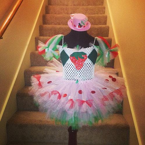 Very Berry Cutie Tutu Dress