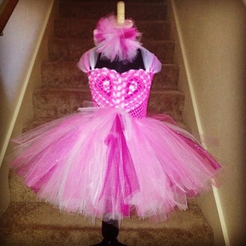 Sweet Heart Tutu Dress Knee Length