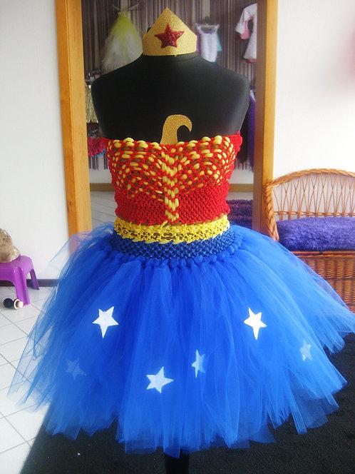 Wonderous Woman Tutu Dress