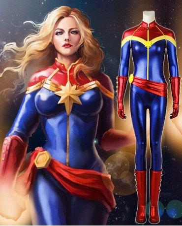 Lauren's Capt Marvel Tutu Dress